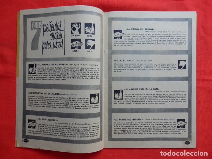 Cine: revista visor del espectaculo y de la aficion, rosanna schiaffino, 1963,20 páginas - Foto 3 - 128771351