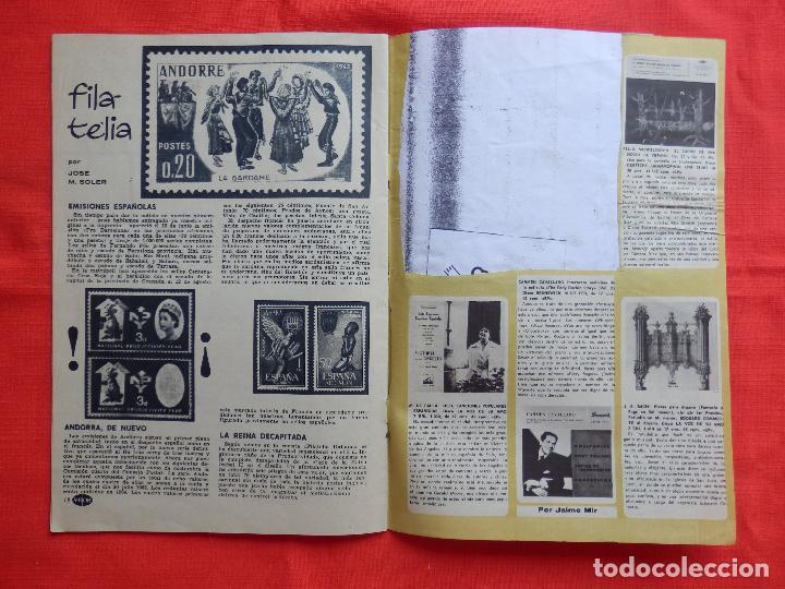 Cine: revista visor del espectaculo y de la aficion, rosanna schiaffino, 1963,20 páginas - Foto 5 - 128771351