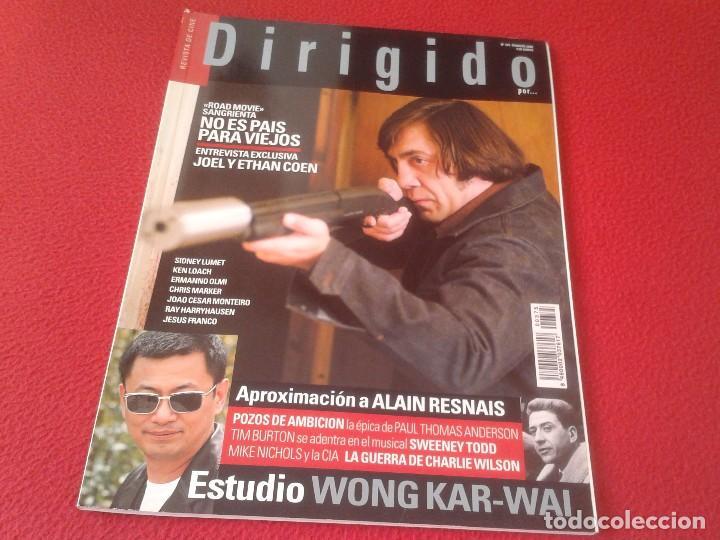 REVISTA DE CINE MAGAZINE DIRIGIDO POR Nº 375 FEBRERO 2008 NO ES PAÍS PARA VIEJOS JAVIER BARDEM...ETC (Cine - Revistas - Dirigido por)