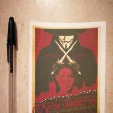 Cinéma: IMPRESO PAPEL -9*13- V DE VENDETTA - ALBUM - CIENCIA FICCION - DISTOPIA . Lote 128942659