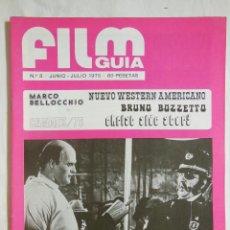 Cine: FILM GUIA. Nº 8, JUNIO - JULIO 1975. Lote 147495525