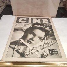 Cine: ANTIGUA REVISTA CINE MUNDO 10 DE MARZO 1956 5 PTAS VER FOTOS. Lote 130032651