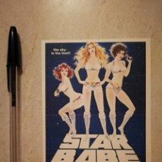 Cinema: REPRODUCCION -9*13- STAR BABE - STAR WARS - CIENCIA FICCION. Lote 130291586