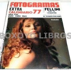 Cine: REVISTA NUEVO FOTOGRAMAS. AÑO XXXI. NÚM. 1469. 10 DICIEMBRE 1976. EXTRA. CALENDARIO 77. UNA STAR PAR. Lote 130296587