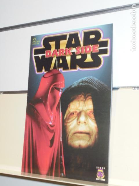 REVISTA DARK SIDE Nº 3 FEBRERO 98 - STORM EDITIONS - (Cine - Revistas - Dark side)