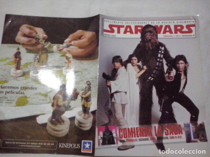 TEBEOS Y COMICS:COLECCIONABLE REVISTA CINEMANIA. STAR WARS. EPISODIO IV. ENERO 2005. ESPECIAL (ABLN) (Cine - Revistas - Cinemanía)