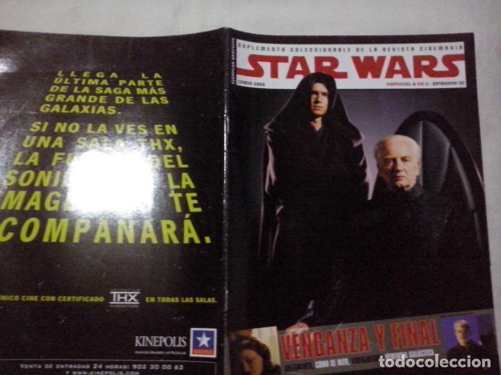 TEBEOS Y COMICS:COLECCIONABLE REVISTA CINEMANIA STAR WARS. EPISODIO III. JUNIO 2005. ESPECIAL (ABLN) (Cine - Revistas - Cinemanía)