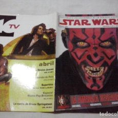 Cine: TEBEOS Y COMICS:COLECCIONABLE REVISTA CINEMANIA STAR WARS. EPISODIO I. ABRIL 2005. ESPECIAL (ABLN). Lote 130532014