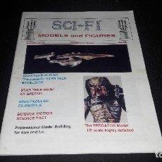 Cine: SCI-FI MODELS AND FIGURES Nº1 WINTER 1992 DIFICIL. Lote 130601274