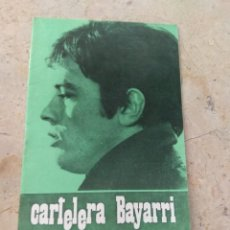 Cine: CARTELERA BAYARRI PORTADA ALAIN DELON 1970. Lote 130699859