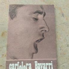 Cine: CARTELERA BAYARRI PORTADA RAIMON 1968. Lote 130701919