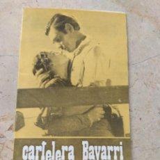 Cine: CARTELERA BAYARRI PORTADA CLARKE GABLE Y VIVIEN LEIGH - LO QUE EL VIENTO SE LLEVÓ - 1970. Lote 296015988