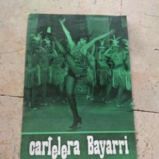 Cine: CARTELERA BAYARRI PORTADA CARMEN SEVILLA 1970. Lote 130707289