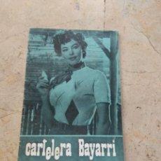 Cine: CARTELERA BAYARRI PORTADA AVA GARDNER 1970. Lote 130708849
