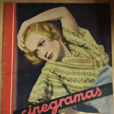 Cine: REVISTA CINEGRAMAS Nº 53 DEL 15/05/1935 . EN PORTADA MIRIAM HOPKINS. Lote 130806804