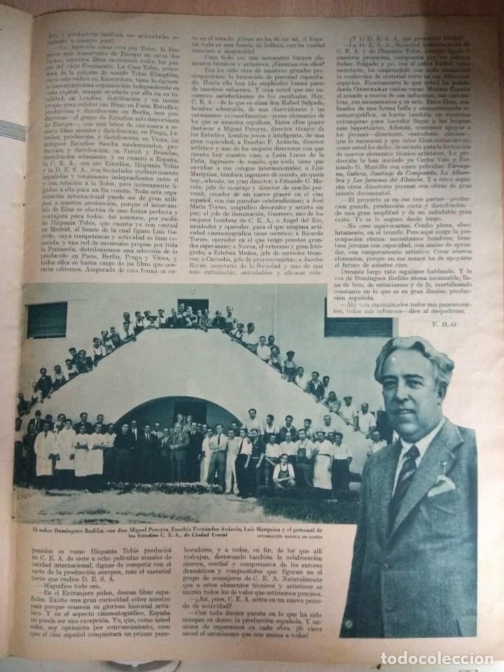 Cine: Revista CINEGRAMAS nº 53 del 15/05/1935 . En portada Miriam Hopkins - Foto 4 - 130806804