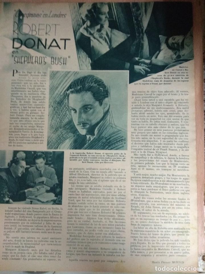 Cine: Revista CINEGRAMAS nº 53 del 15/05/1935 . En portada Miriam Hopkins - Foto 5 - 130806804