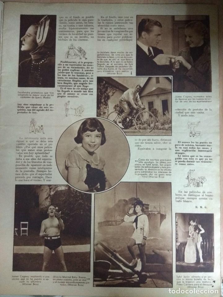 Cine: Revista CINEGRAMAS nº 53 del 15/05/1935 . En portada Miriam Hopkins - Foto 6 - 130806804