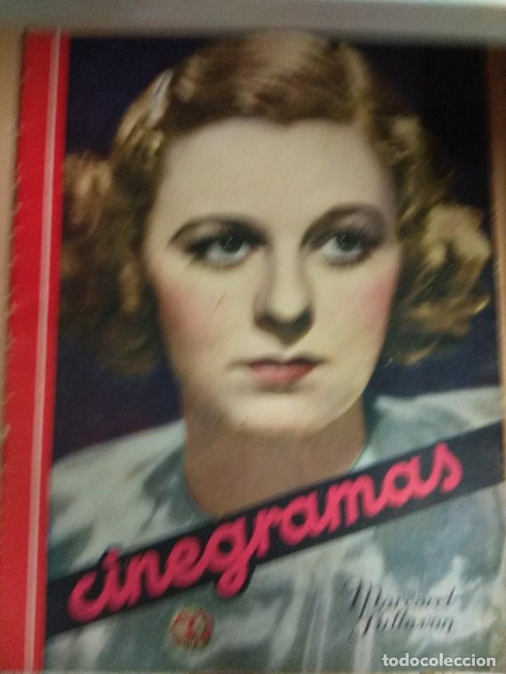 REVISTA CINEGRAMAS Nº 49 DEL 18/08/1935 . EN PORTADA MARGARET SULTAVAN (Cine - Revistas - Cinegramas)