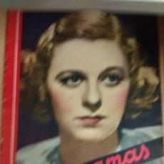 Cine: REVISTA CINEGRAMAS Nº 49 DEL 18/08/1935 . EN PORTADA MARGARET SULTAVAN. Lote 130807376