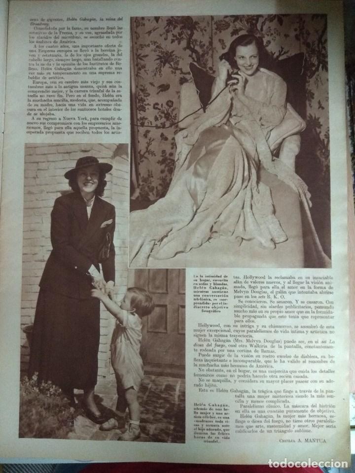 Cine: Revista CINEGRAMAS nº 49 del 18/08/1935 . En portada Margaret Sultavan - Foto 4 - 130807376