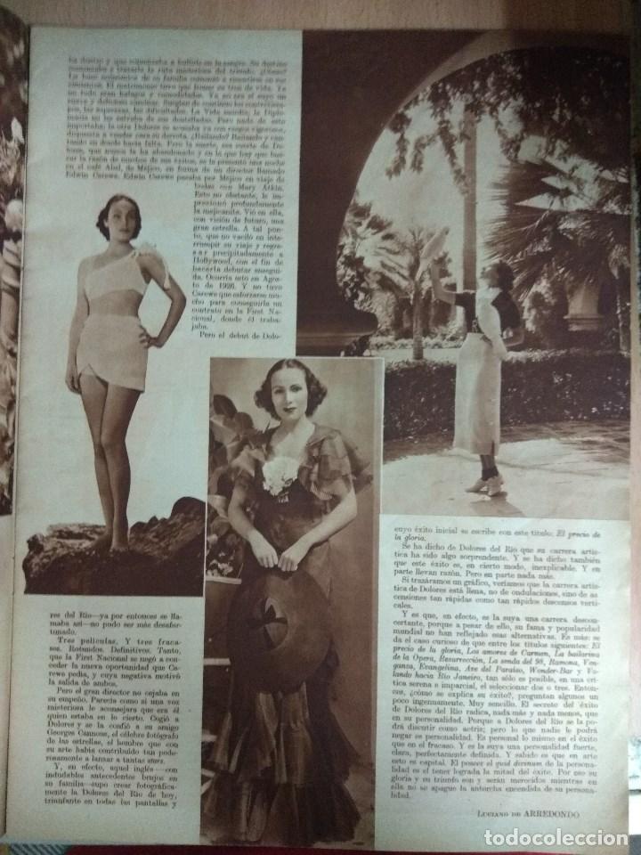 Cine: Revista CINEGRAMAS nº 49 del 18/08/1935 . En portada Margaret Sultavan - Foto 5 - 130807376