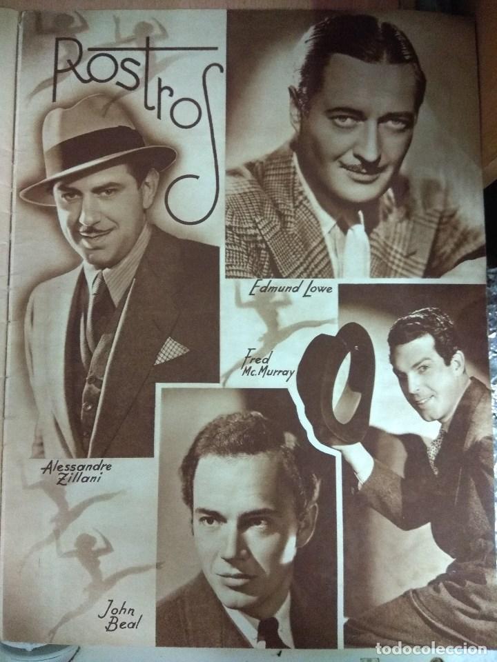 Cine: Revista CINEGRAMAS nº 49 del 18/08/1935 . En portada Margaret Sultavan - Foto 6 - 130807376
