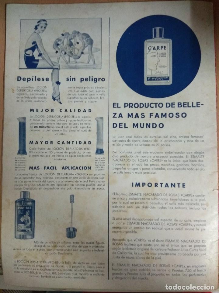 Cine: Revista CINEGRAMAS nº 49 del 18/08/1935 . En portada Margaret Sultavan - Foto 7 - 130807376