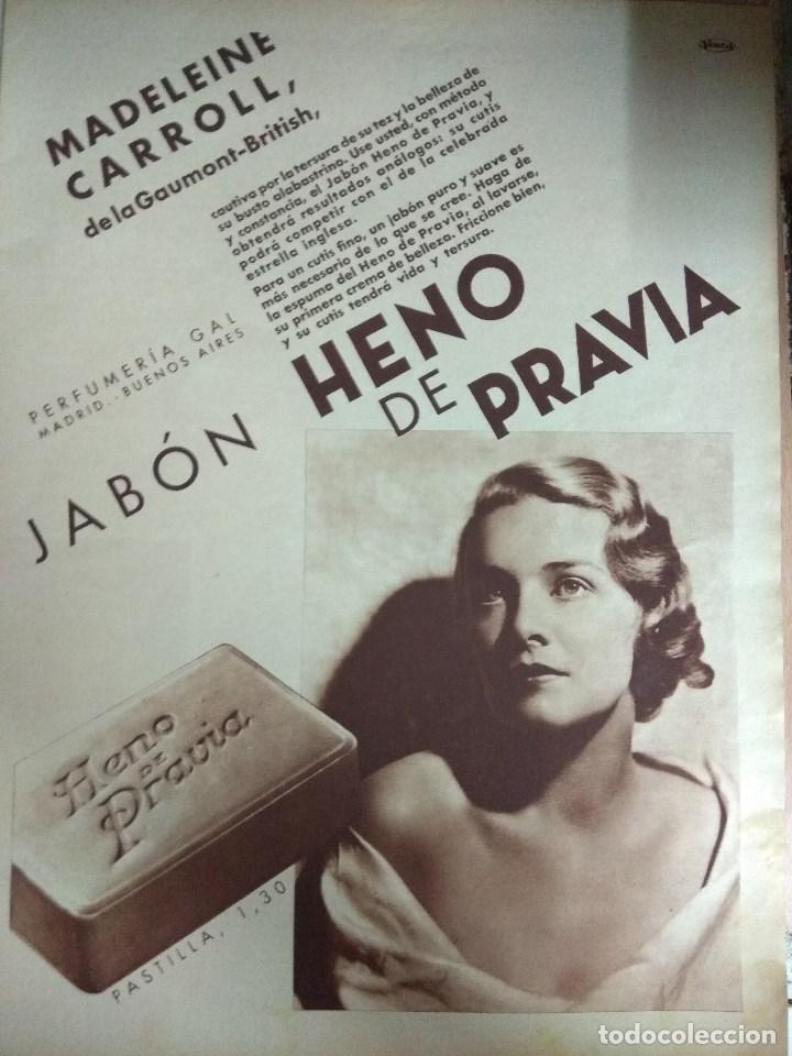 Cine: Revista CINEGRAMAS nº 49 del 18/08/1935 . En portada Margaret Sultavan - Foto 10 - 130807376