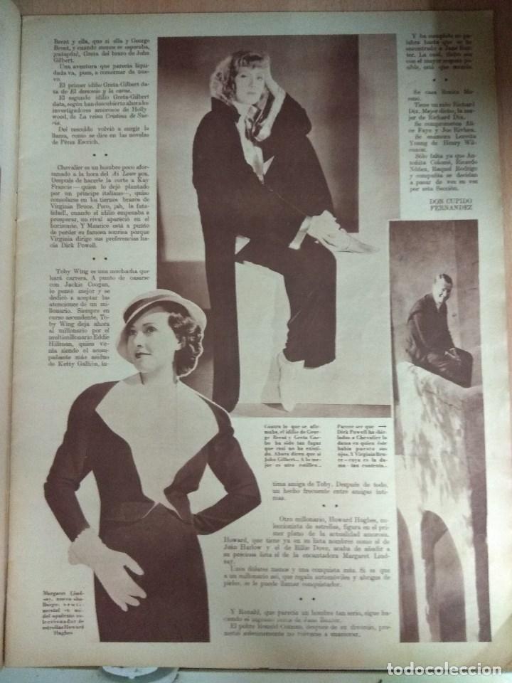 Cine: Revista CINEGRAMAS nº 27 del 17/03/1935 . En portada Anna May Wong - Foto 4 - 130807740