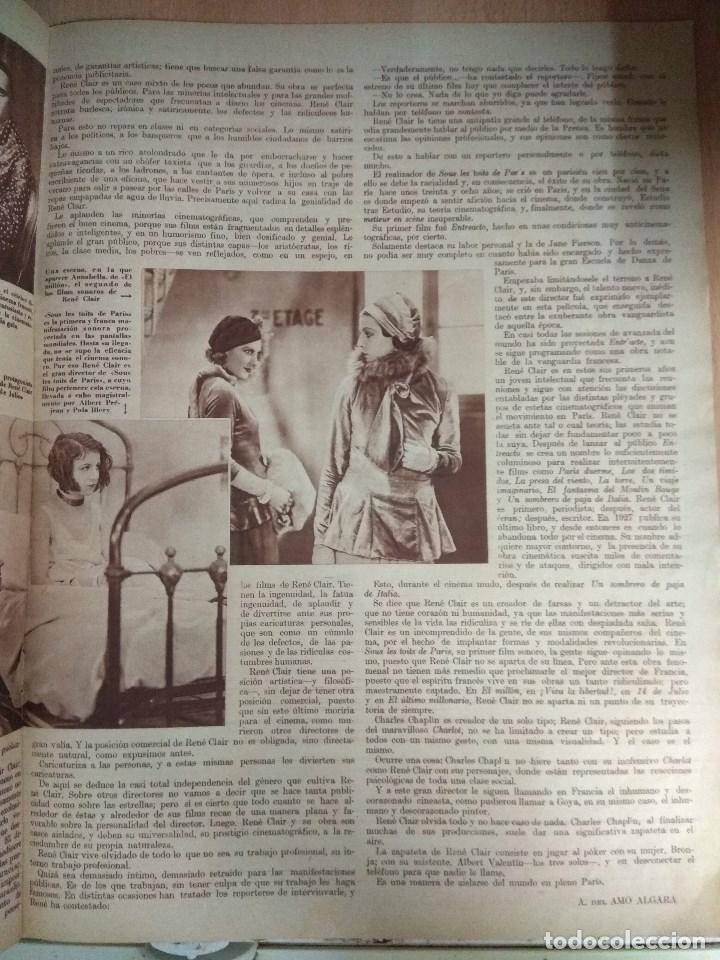 Cine: Revista CINEGRAMAS nº 27 del 17/03/1935 . En portada Anna May Wong - Foto 7 - 130807740