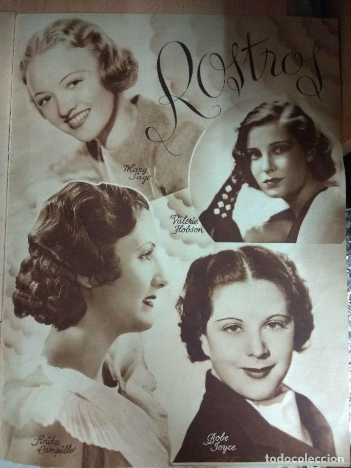 Cine: Revista CINEGRAMAS nº 27 del 17/03/1935 . En portada Anna May Wong - Foto 8 - 130807740