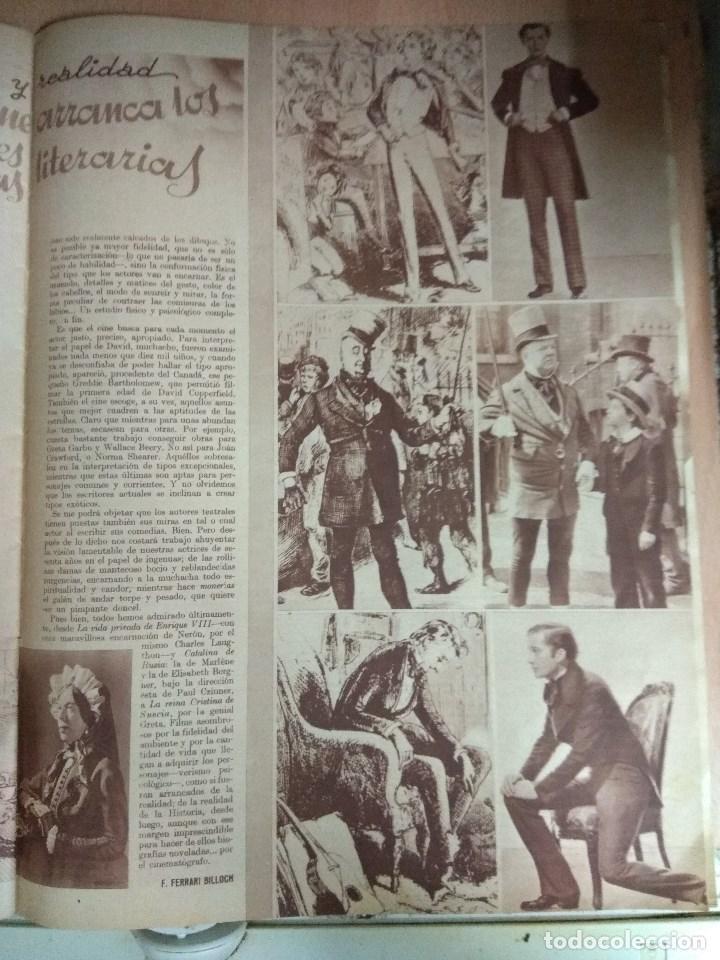 Cine: Revista CINEGRAMAS nº 27 del 17/03/1935 . En portada Anna May Wong - Foto 9 - 130807740