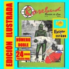 Cine: ROSEBUD Nº 3 - 4 - REVISTA ESPECIAL CINE FANTÁSTICO CANARIAS Y EL CINE MITOS DRÁCULA FRANKENSTEIN. Lote 121191223