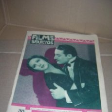 Cine: FILMS SELECTOS, Nº 41. JULIO 1931. ROSITA MORENO. RAMÓN PEREDA. IMPERIO ARGENTINA. ROSITA DÍAZ. ETC.. Lote 130841656