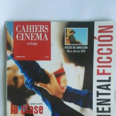 Cine: CAHIERS DU CINEMA ESPAÑA ENERO 2009. Lote 131049441