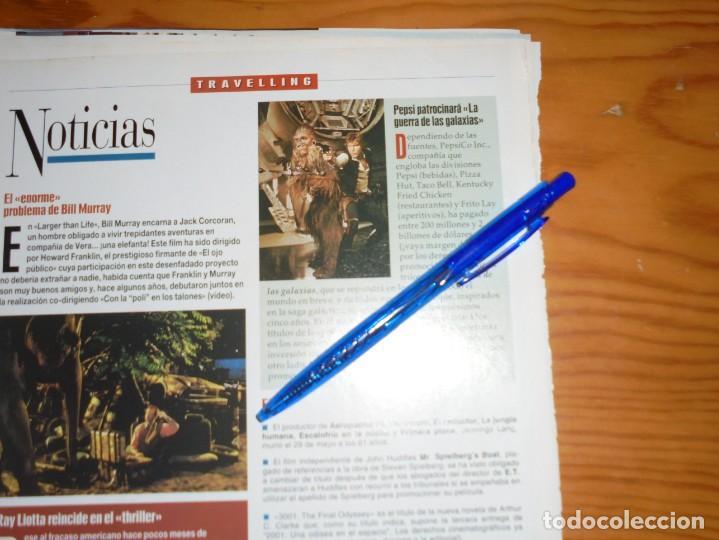 RECORTE PRENSA : PEPSI PATROCINARA LA GUERRA DE LAS GALAXIAS. IMAGENES, JL-OGT1996 (Cine - Revistas - Imágenes de la actualidad)
