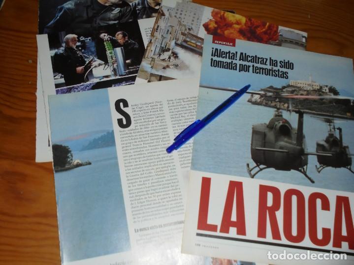 RECORTE PRENSA : REPORTAJE PELICULA: LA ROCA. SEAN CONNERY, NICOLAS CAGE. IMAGENES, JL-OGT1996 (Cine - Revistas - Imágenes de la actualidad)
