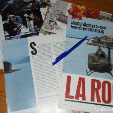 Cine: RECORTE PRENSA : REPORTAJE PELICULA: LA ROCA. SEAN CONNERY, NICOLAS CAGE. IMAGENES, JL-OGT1996. Lote 131118732
