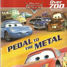 Cine: DISNEY PIXAR CARS : PEDAL TO THE METAL ( OVER 700 STCKERS) . Lote 131125988