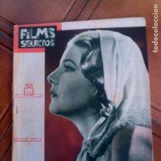 Cine: FILMS SELECTOS N,138 DE 1933. Lote 131167484