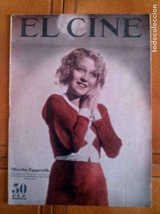 REVISTA EL CINE N,8 DE 1933 (Cine - Revistas - Otros)