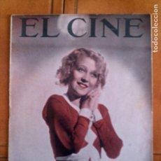 Cinéma: REVISTA EL CINE N,8 DE 1933. Lote 131167720