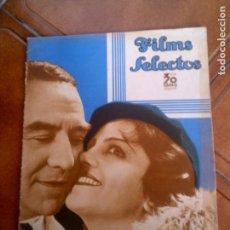 Cine: REVISTA FILMS SELECTOS N,235 AÑO 1935. Lote 131168688
