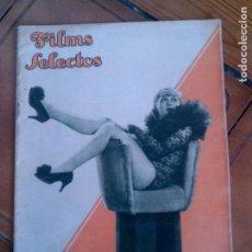 Cine: REVISTA FILMS SELECTOS N,227 AÑO 1935. Lote 131168744