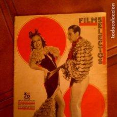 Cine: REVISTA FILMS SELECTOS N,231 AÑO 1935. Lote 131168912