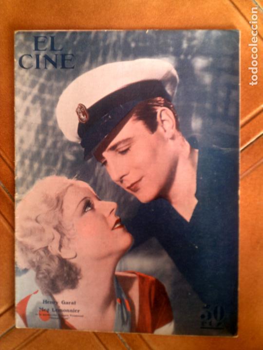REVISTA EL CINE N,22 DE 1934 (Cine - Revistas - Otros)