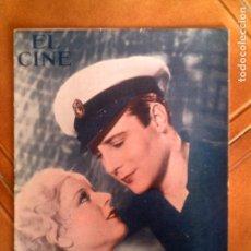 Cinéma: REVISTA EL CINE N,22 DE 1934. Lote 131168968