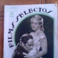Cine: REVISTA FILMS SELECTOS N,154 DE 1933. Lote 131169036