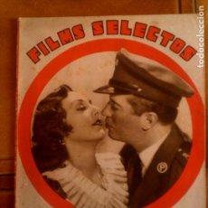Cine: REVISTA FILMS SELECTOS N,205 DEL AÑO 1934. Lote 131169184
